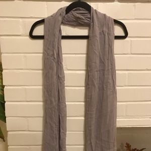 Grey scarf - makes great headwrap